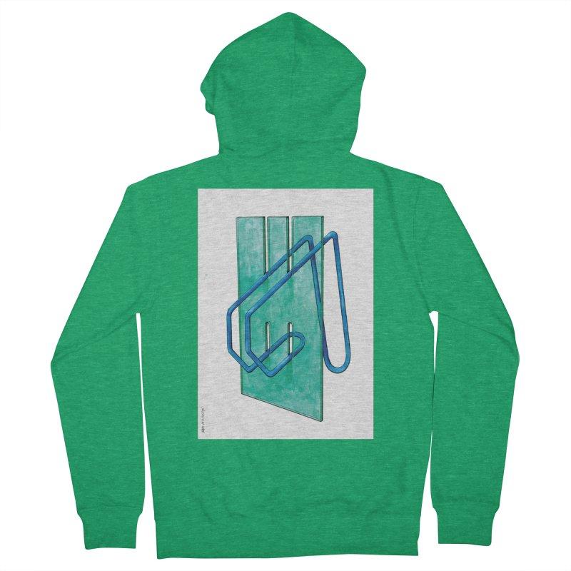 Drawing Blog No.5 - 10.4.14 Men's Zip-Up Hoody by schizo pop