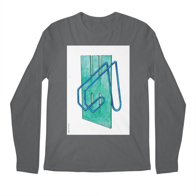 Drawing Blog No.5 - 10.4.14 Men's Longsleeve T-Shirt by schizo pop