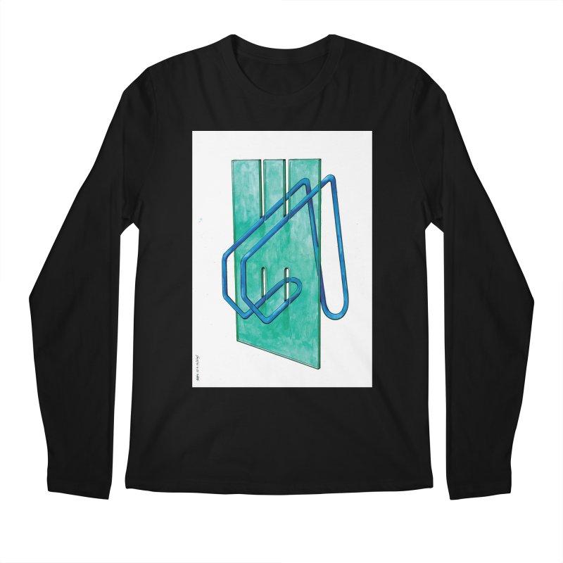 Drawing Blog No.5 - 10.4.14 Men's Regular Longsleeve T-Shirt by schizo pop