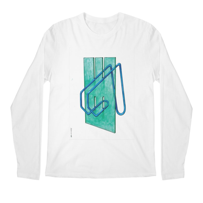 Drawing Blog No.5 - 10.4.14 Men's Regular Longsleeve T-Shirt by schizo pop