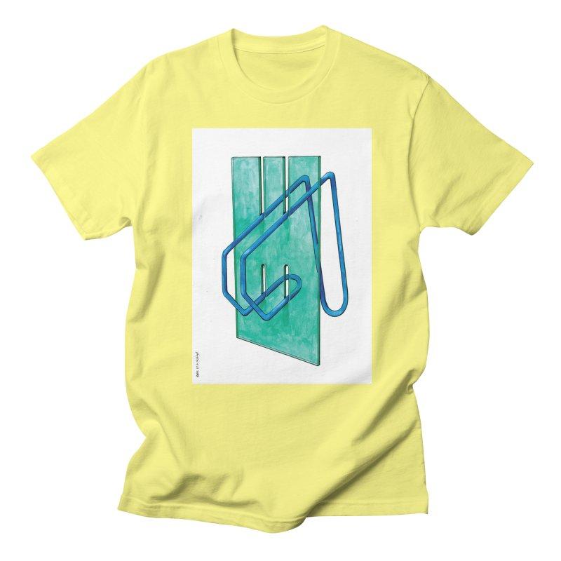 Drawing Blog No.5 - 10.4.14 Men's Regular T-Shirt by schizo pop