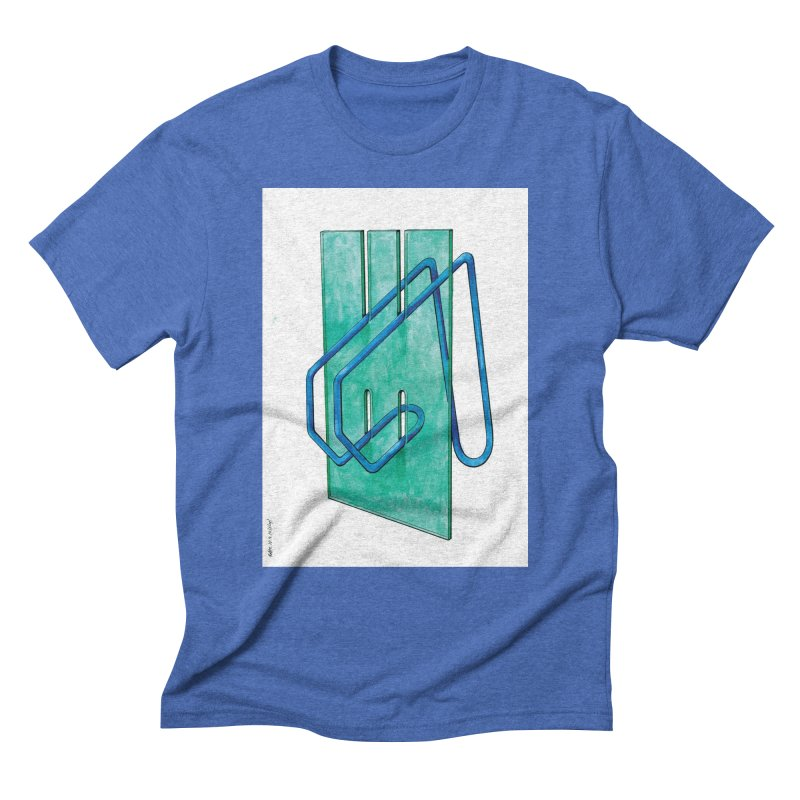 Drawing Blog No.5 - 10.4.14 Men's Triblend T-Shirt by schizo pop