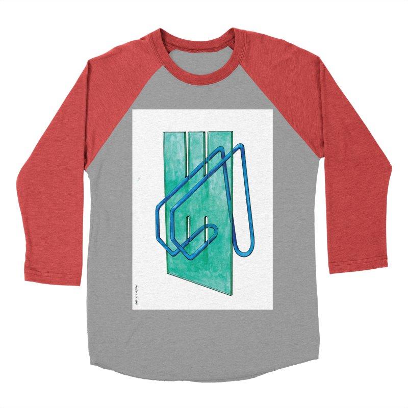 Drawing Blog No.5 - 10.4.14 Women's Baseball Triblend Longsleeve T-Shirt by schizo pop