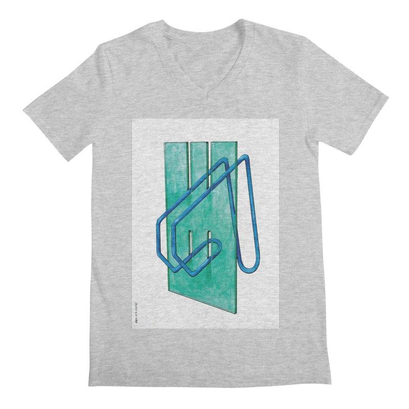 Drawing Blog No.5 - 10.4.14 Men's V-Neck by schizo pop