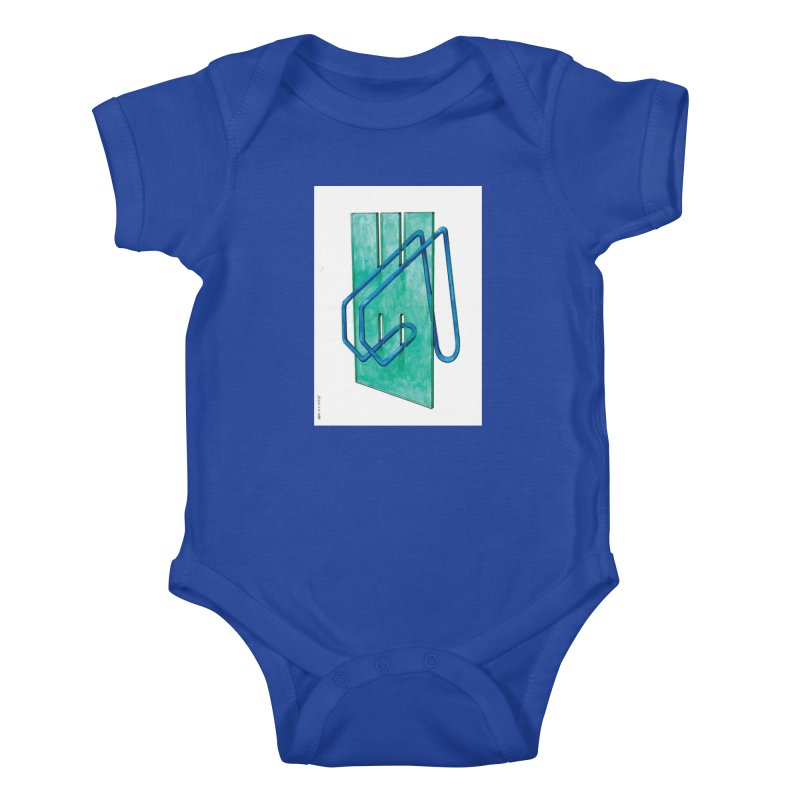 Drawing Blog No.5 - 10.4.14 Kids Baby Bodysuit by schizo pop