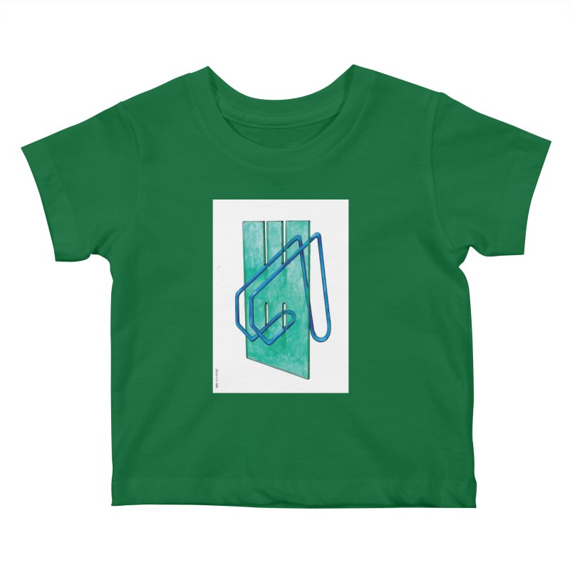Drawing Blog No.5 - 10.4.14 Kids Baby T-Shirt by schizo pop