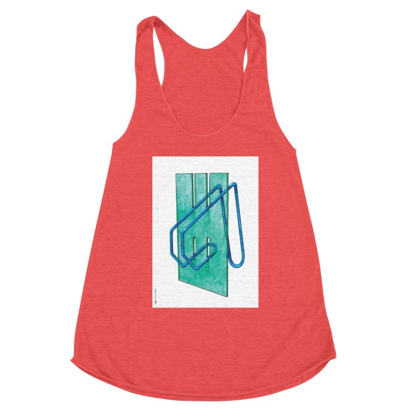Drawing Blog No.5 - 10.4.14 Women's Tank by schizo pop