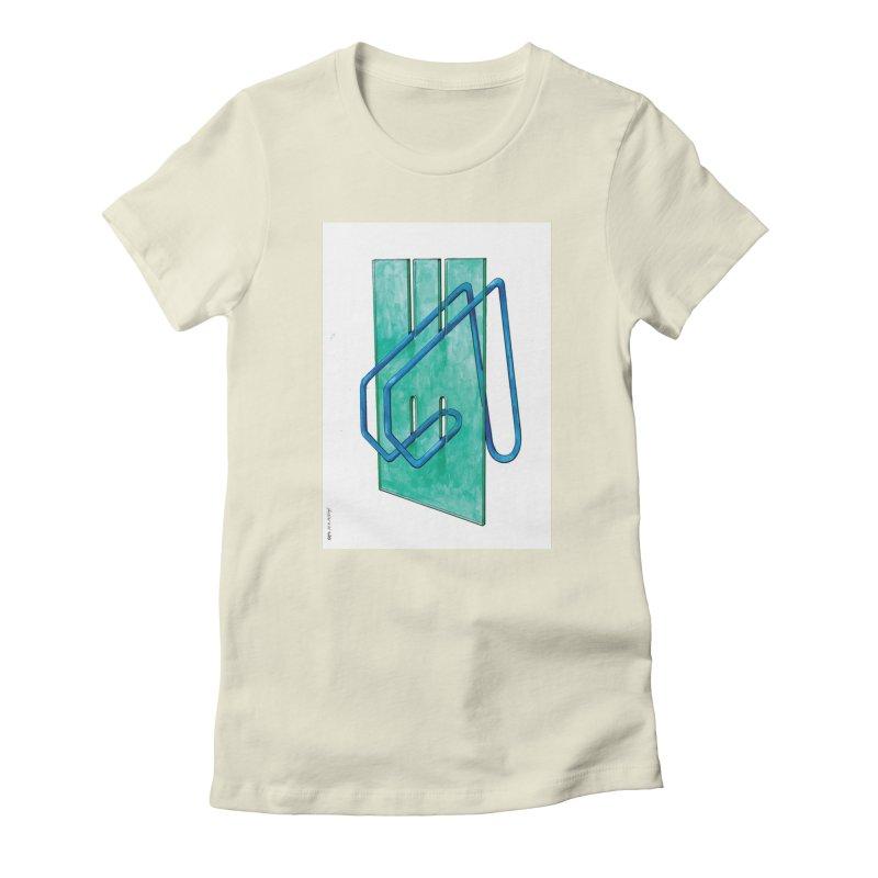 Drawing Blog No.5 - 10.4.14 Women's T-Shirt by schizo pop