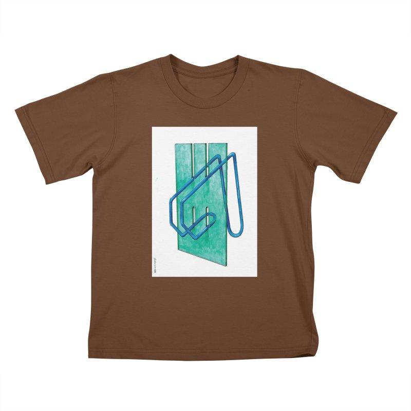 Drawing Blog No.5 - 10.4.14 Kids T-Shirt by schizo pop