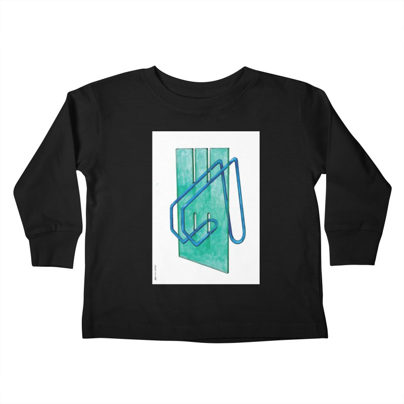 Drawing Blog No.5 - 10.4.14 Kids Toddler Longsleeve T-Shirt by schizo pop