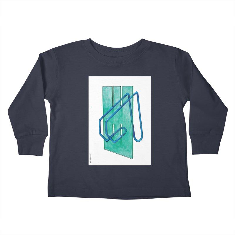 Drawing Blog No.5 - 10.4.14 Kids Toddler Longsleeve T-Shirt by schizo pop