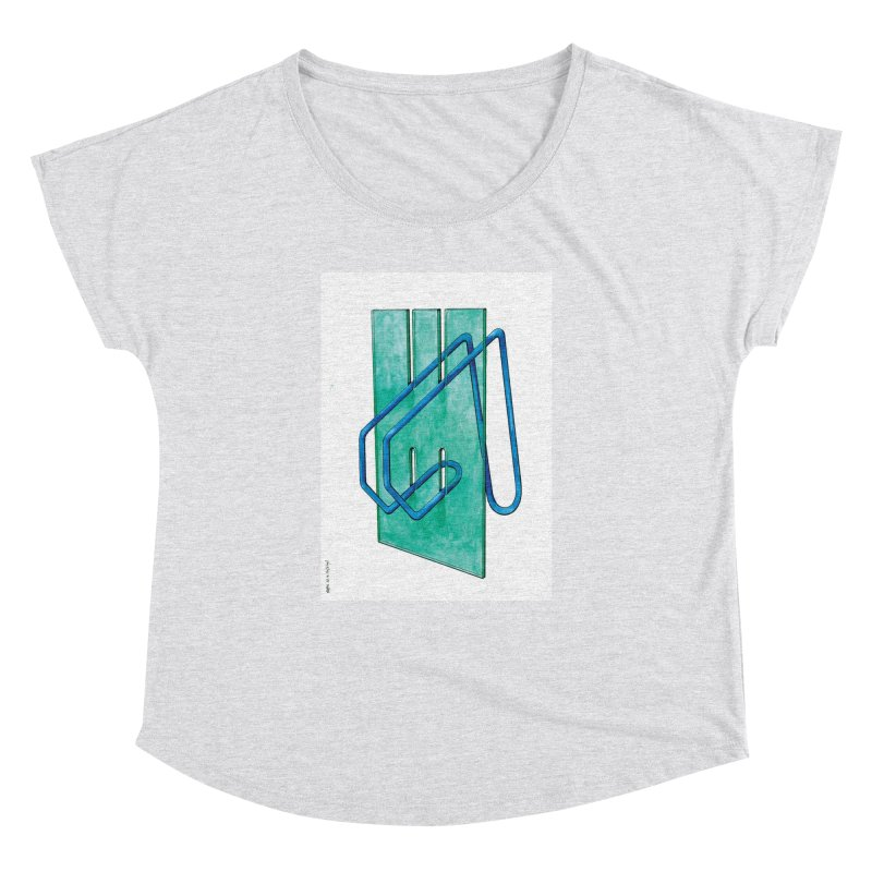 Drawing Blog No.5 - 10.4.14 Women's Dolman Scoop Neck by schizo pop