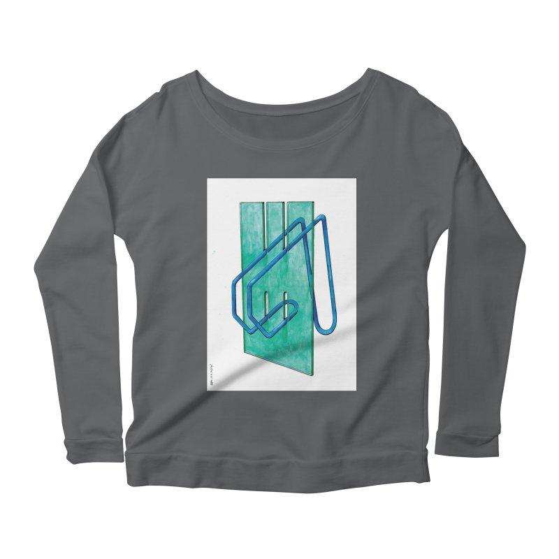 Drawing Blog No.5 - 10.4.14 Women's Longsleeve T-Shirt by schizo pop