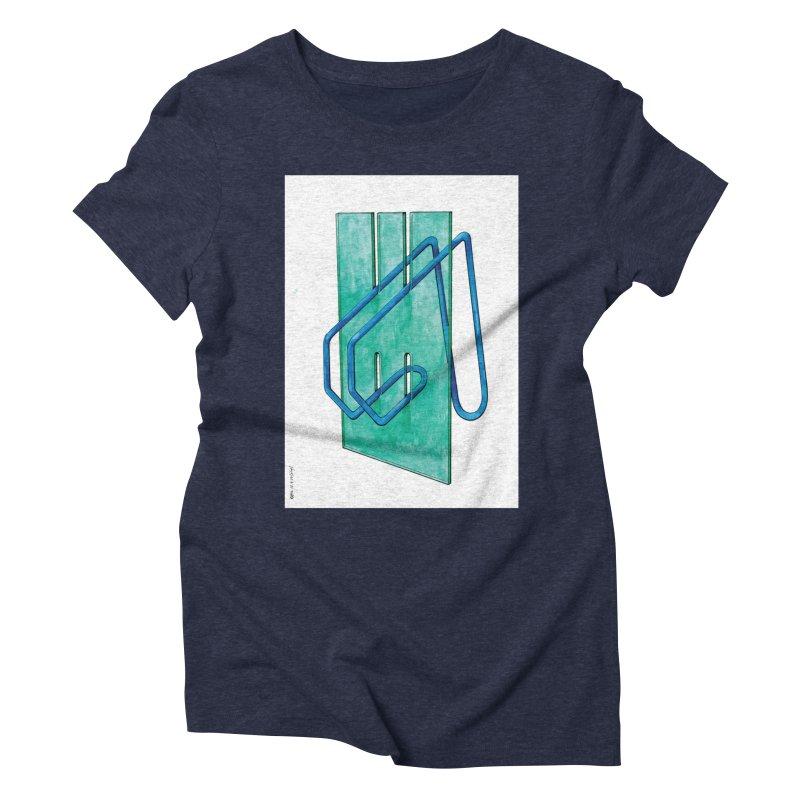 Drawing Blog No.5 - 10.4.14 Women's Triblend T-Shirt by schizo pop
