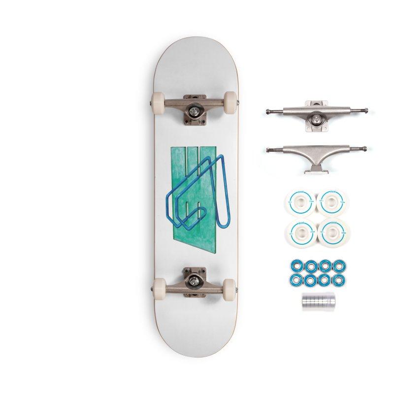 Drawing Blog No.5 - 10.4.14 Accessories Skateboard by schizo pop