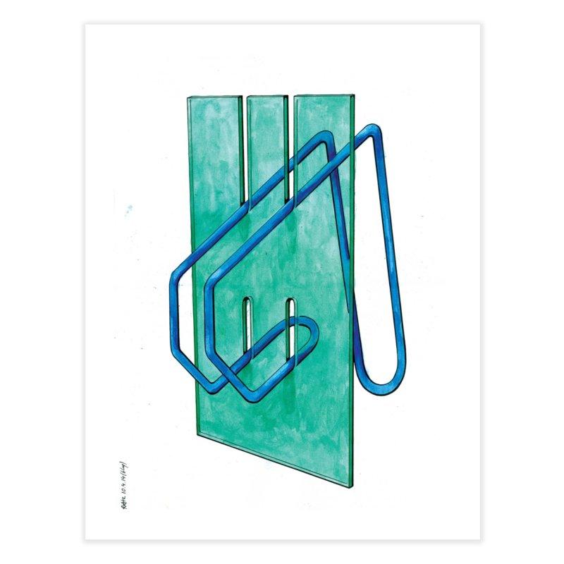 Drawing Blog No.5 - 10.4.14 Home Fine Art Print by schizo pop