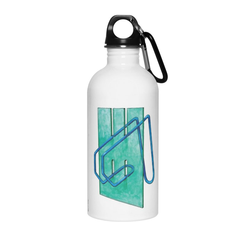 Drawing Blog No.5 - 10.4.14 Accessories Water Bottle by schizo pop