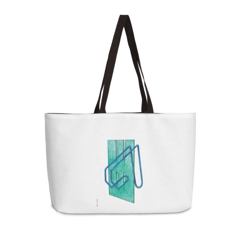 Drawing Blog No.5 - 10.4.14 Accessories Weekender Bag Bag by schizo pop