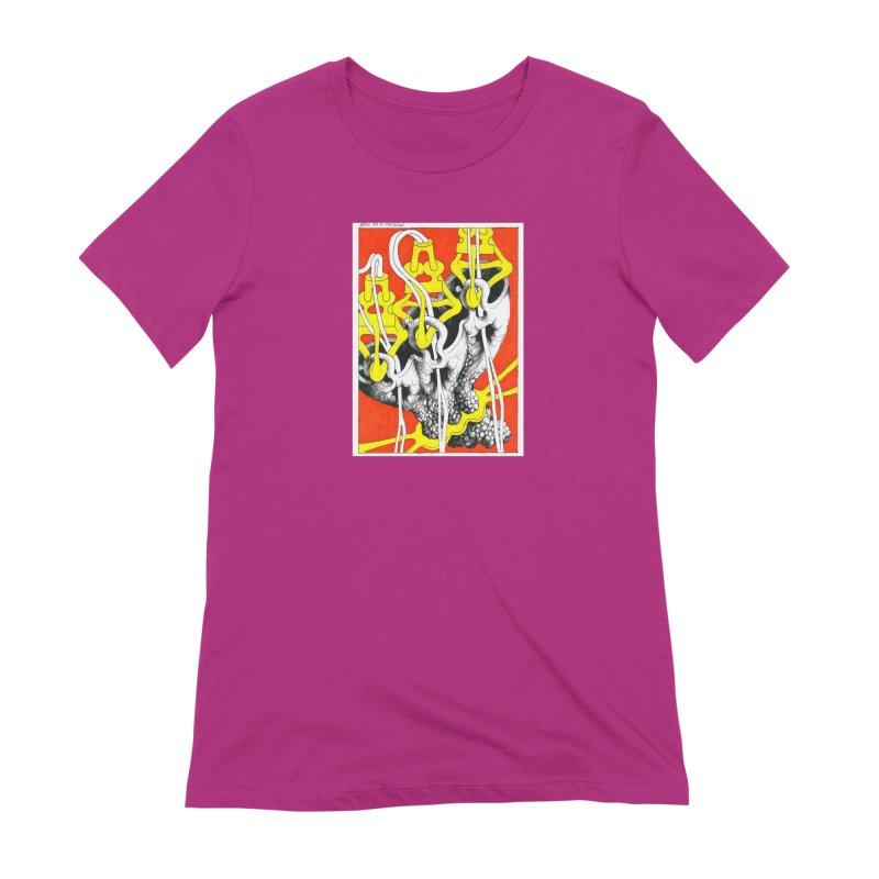 Drawing Blog No.2 - 10.4.09 Women's Extra Soft T-Shirt by schizo pop