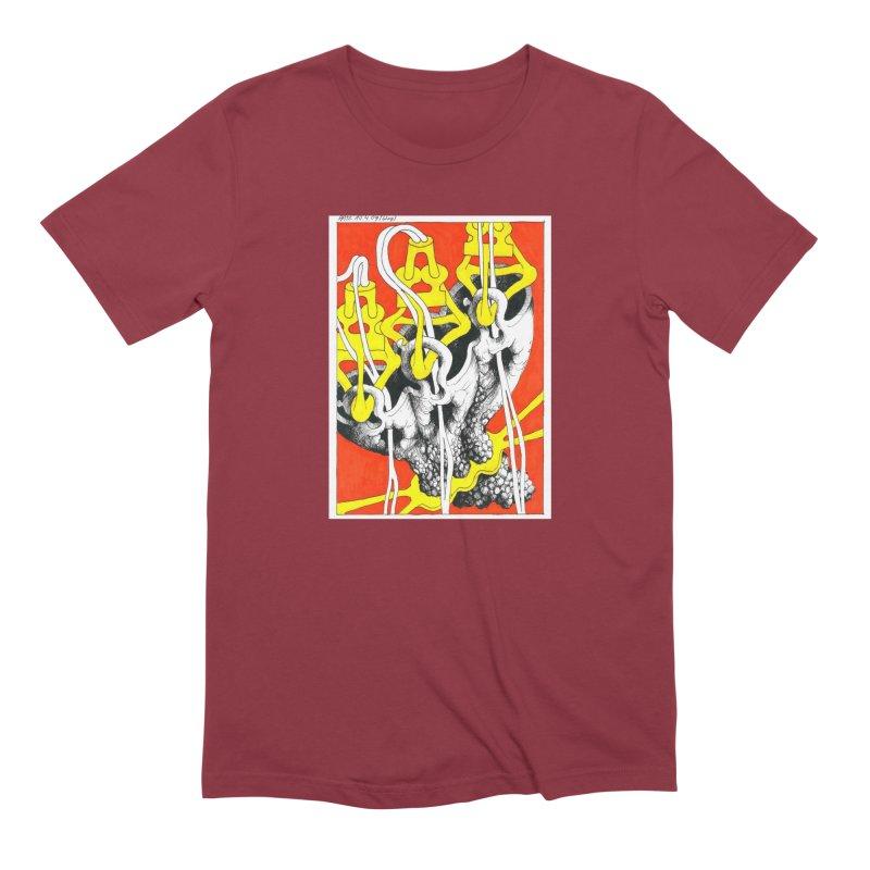Drawing Blog No.2 - 10.4.09 Men's Extra Soft T-Shirt by schizo pop