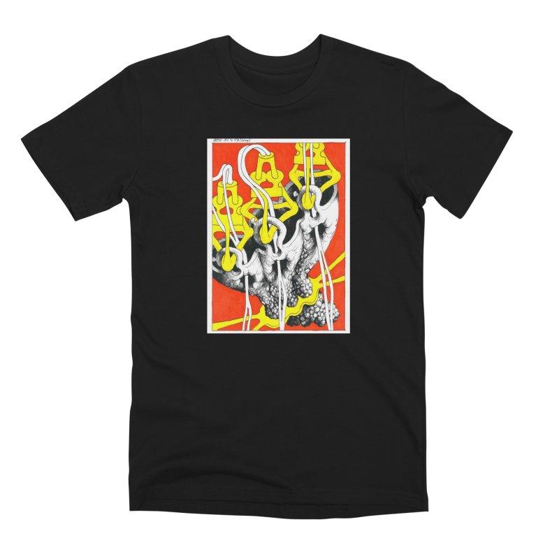 Drawing Blog No.2 - 10.4.09 Men's Premium T-Shirt by schizo pop