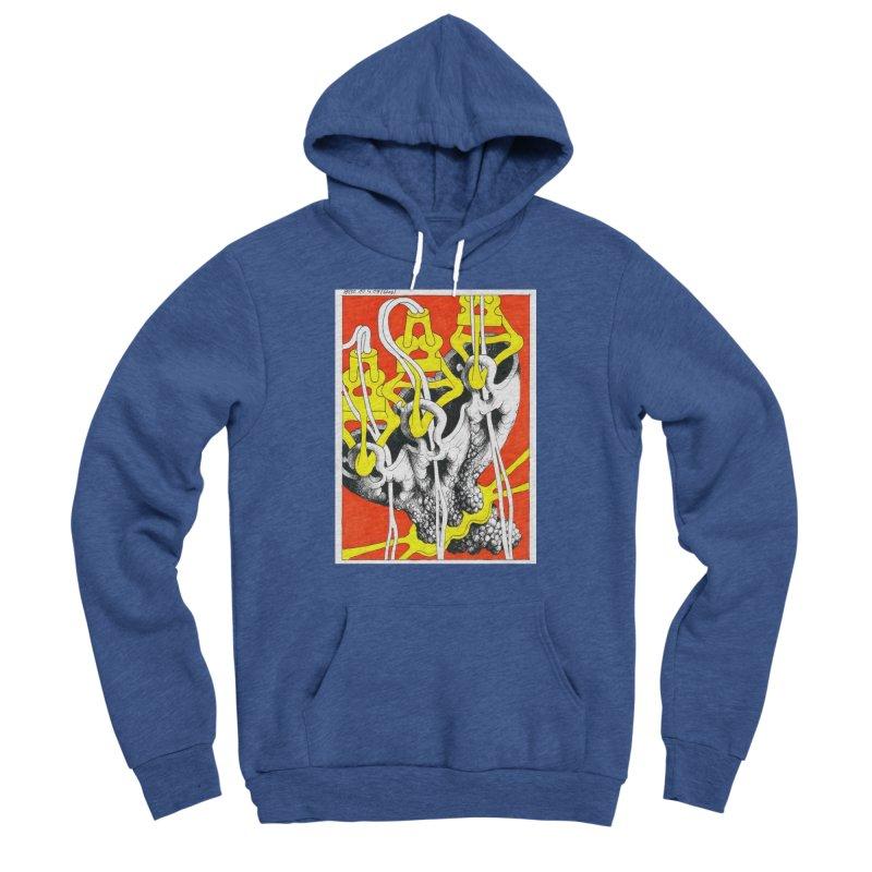 Drawing Blog No.2 - 10.4.09 Men's Sponge Fleece Pullover Hoody by schizo pop