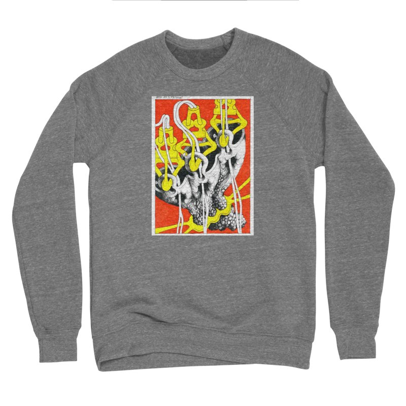 Drawing Blog No.2 - 10.4.09 Men's Sponge Fleece Sweatshirt by schizo pop