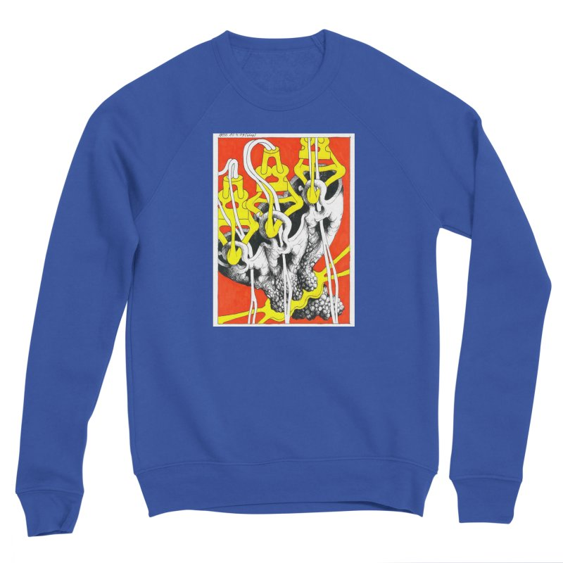 Drawing Blog No.2 - 10.4.09 Men's Sweatshirt by schizo pop
