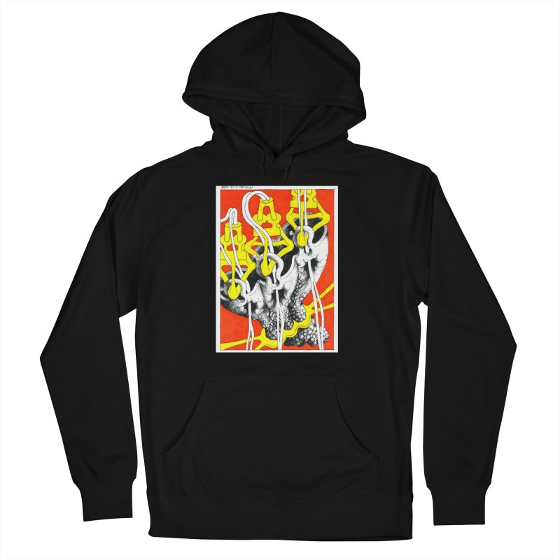 Drawing Blog No.2 - 10.4.09 Men's French Terry Pullover Hoody by schizo pop