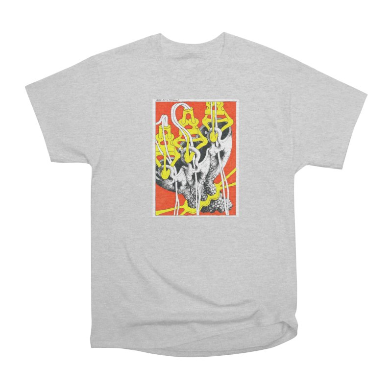 Drawing Blog No.2 - 10.4.09 Women's Heavyweight Unisex T-Shirt by schizo pop