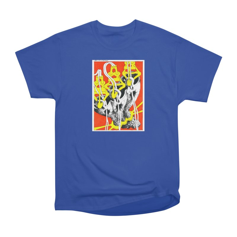 Drawing Blog No.2 - 10.4.09 Men's Heavyweight T-Shirt by schizo pop
