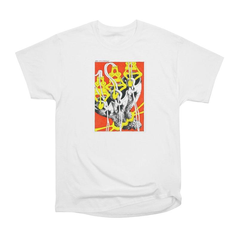 Drawing Blog No.2 - 10.4.09 Women's Heavyweight Unisex T-Shirt by schizo pop