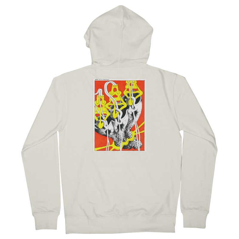 Drawing Blog No.2 - 10.4.09 Men's French Terry Zip-Up Hoody by schizo pop