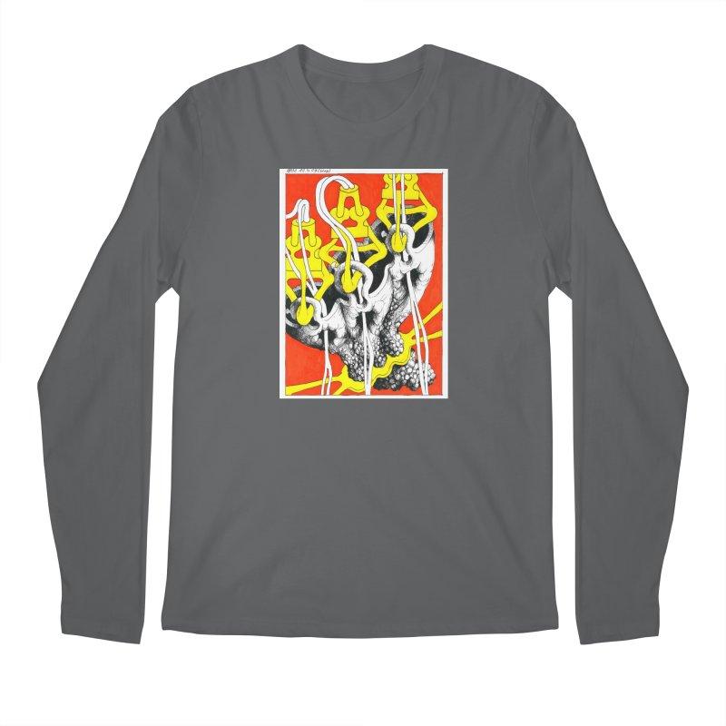 Drawing Blog No.2 - 10.4.09 Men's Longsleeve T-Shirt by schizo pop
