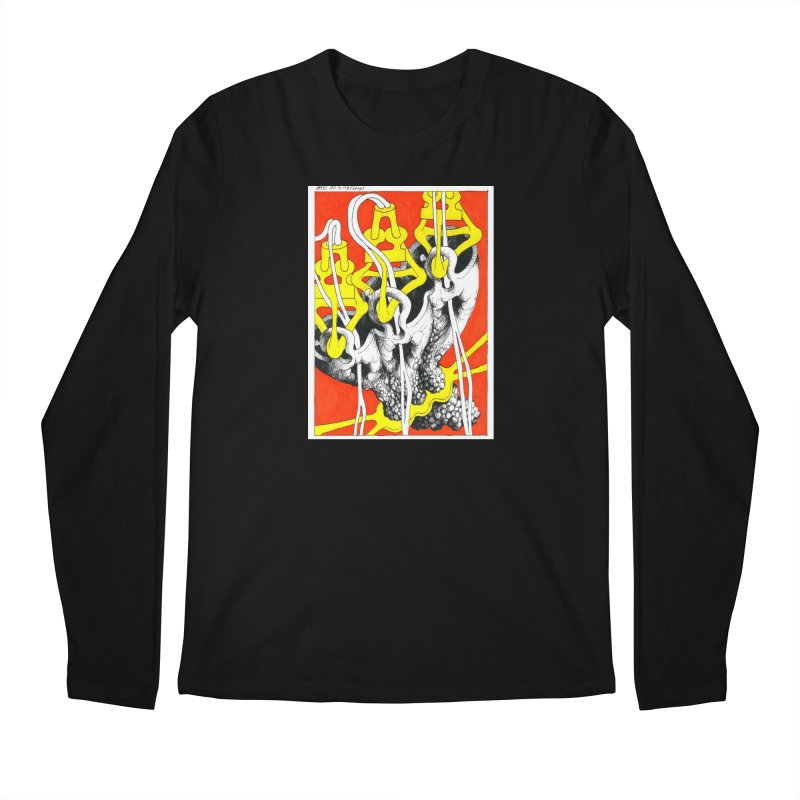 Drawing Blog No.2 - 10.4.09 Men's Regular Longsleeve T-Shirt by schizo pop