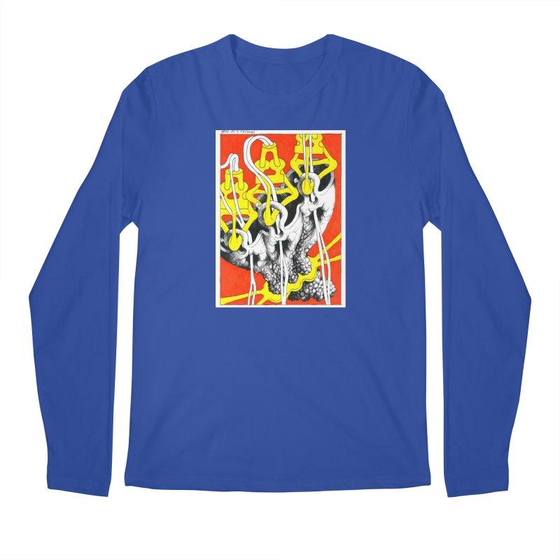 Drawing Blog No.2 - 10.4.09 Men's Regular Longsleeve T-Shirt by schizo pop