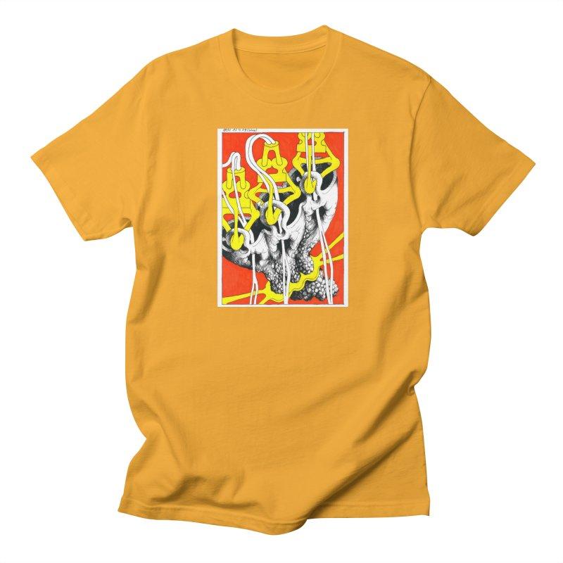 Drawing Blog No.2 - 10.4.09 Men's T-Shirt by schizo pop