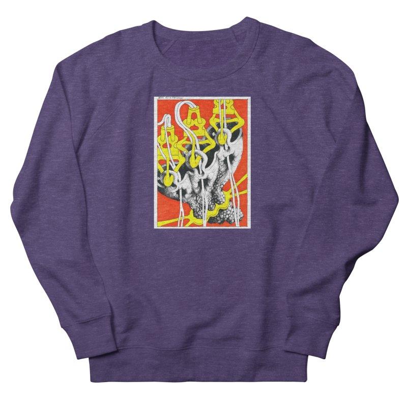 Drawing Blog No.2 - 10.4.09 Women's French Terry Sweatshirt by schizo pop