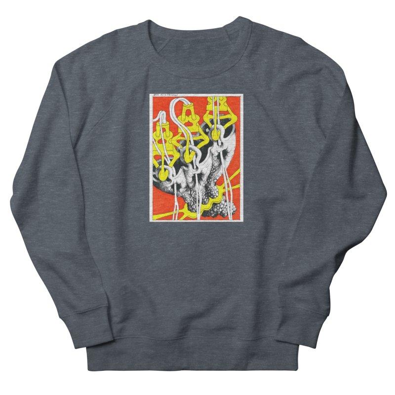 Drawing Blog No.2 - 10.4.09 Men's French Terry Sweatshirt by schizo pop