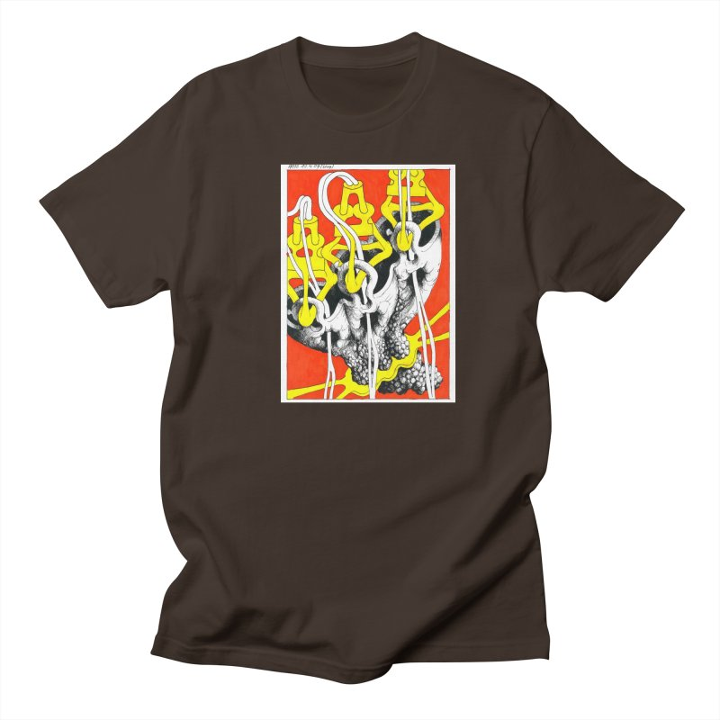 Drawing Blog No.2 - 10.4.09 Men's Regular T-Shirt by schizo pop