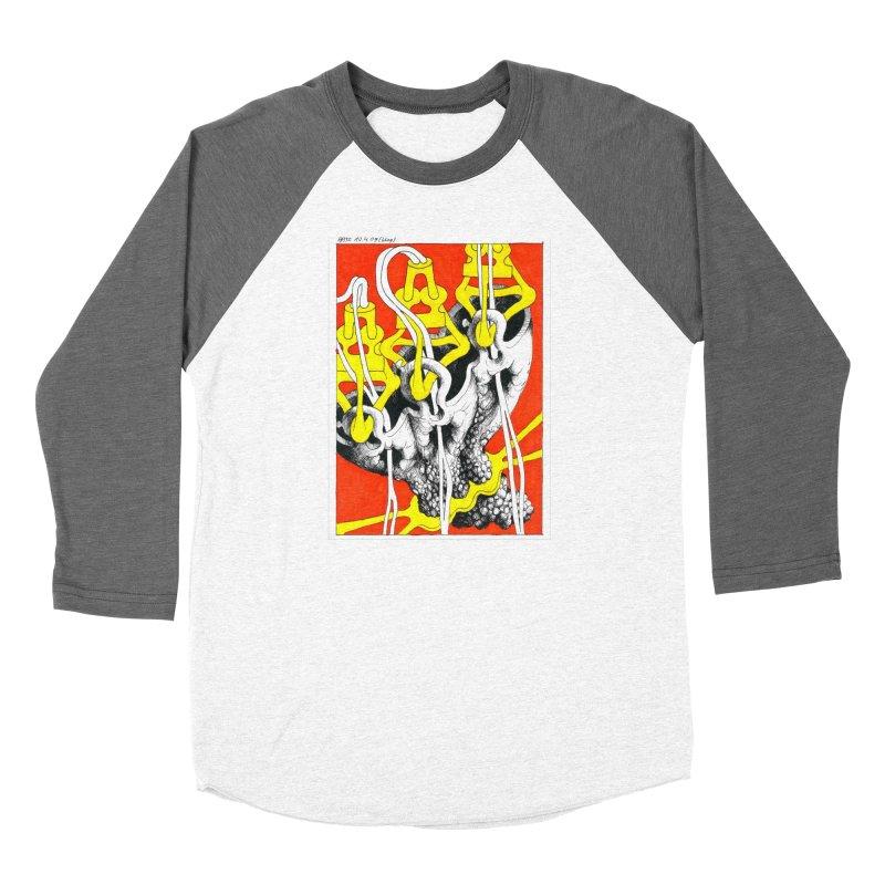 Drawing Blog No.2 - 10.4.09 Women's Baseball Triblend Longsleeve T-Shirt by schizo pop