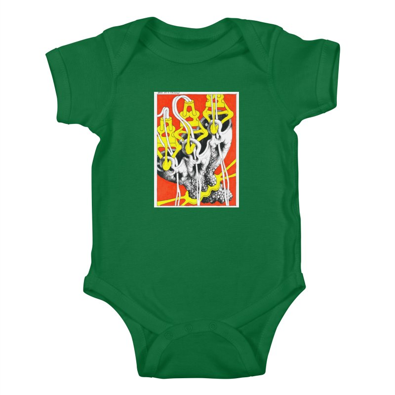 Drawing Blog No.2 - 10.4.09 Kids Baby Bodysuit by schizo pop
