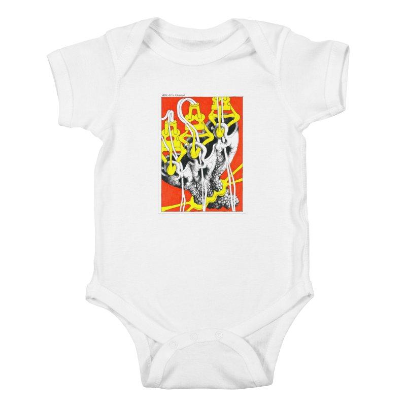 Drawing Blog No.2 - 10.4.09 Kids Baby Bodysuit by schizo pop