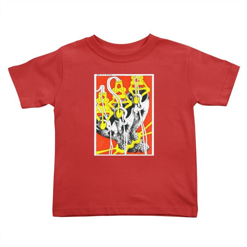 Drawing Blog No.2 - 10.4.09 Kids Toddler T-Shirt by schizo pop