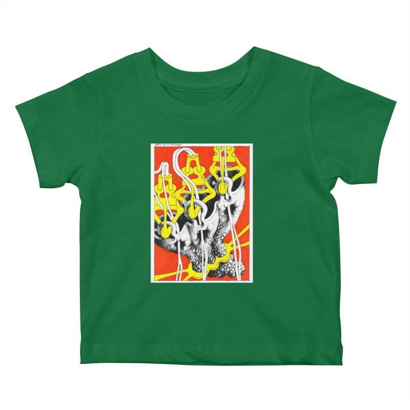 Drawing Blog No.2 - 10.4.09 Kids Baby T-Shirt by schizo pop