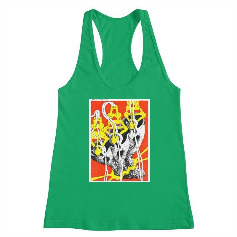 Drawing Blog No.2 - 10.4.09 Women's Tank by schizo pop