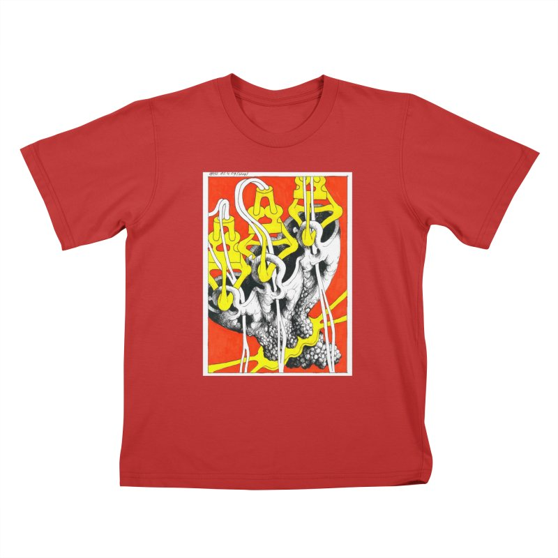 Drawing Blog No.2 - 10.4.09 Kids T-Shirt by schizo pop