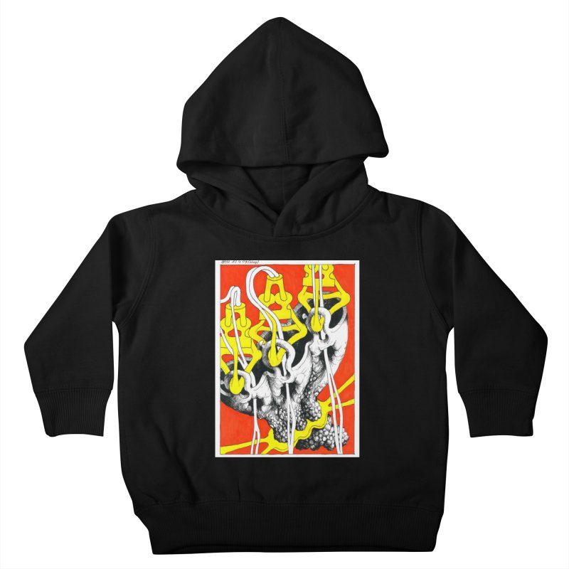 Drawing Blog No.2 - 10.4.09 Kids Toddler Pullover Hoody by schizo pop