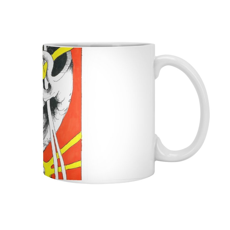 Drawing Blog No.2 - 10.4.09 Accessories Mug by schizo pop