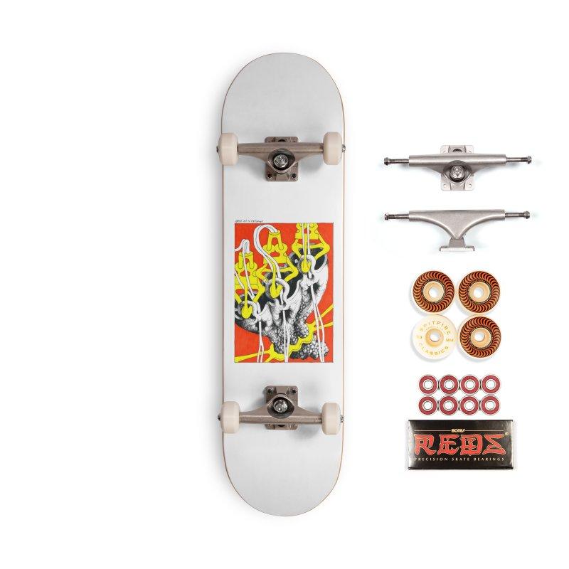 Drawing Blog No.2 - 10.4.09 Accessories Skateboard by schizo pop